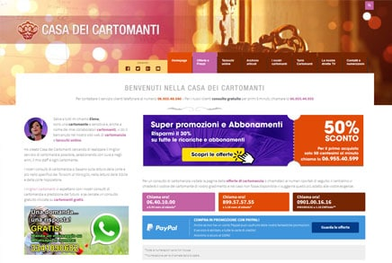 webdesign cartomanzia